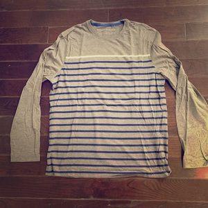 Banana Republic Striped Long Sleeve T-Shirt